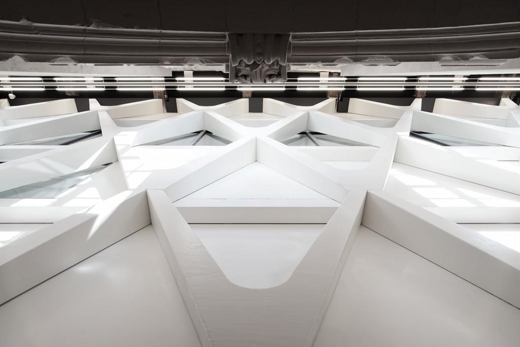L'Escaut + Atelier Gigogne Architectures: Artothèque (2010–15). A converted former chapel. Mons, Belgium. Copyright François Lichtle.