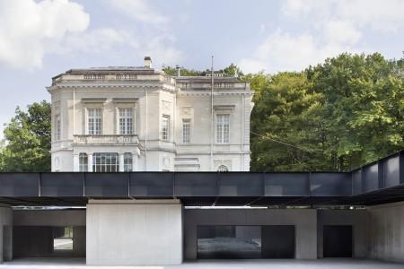 Baukunst: Adeps Sports Centre la Fraineuse (2010–15). Copyright Maxime Delvaux.