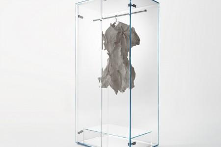 Tokujin Yoshioka: Prism Glass Closet (2015) for Glas Italia.