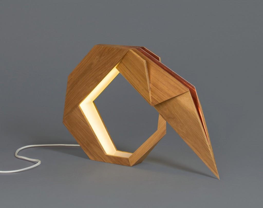 Oru Lamp by Aljoud Lootah