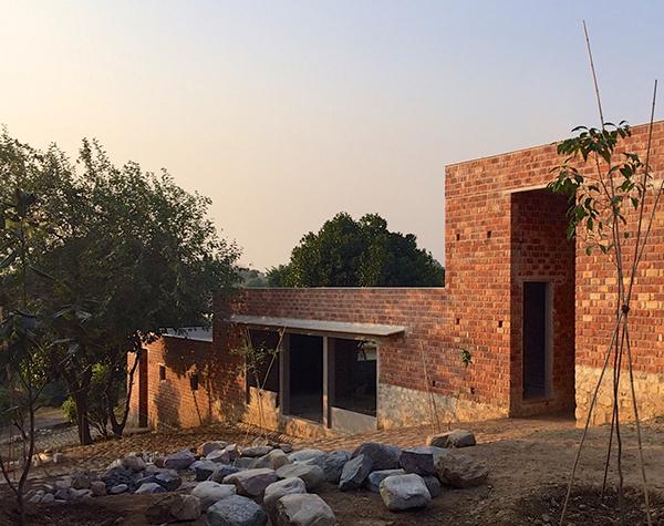 Ganga Maki StudioUnder construction Himalaya 2016,photo by Bijoy JainStudioMumbai