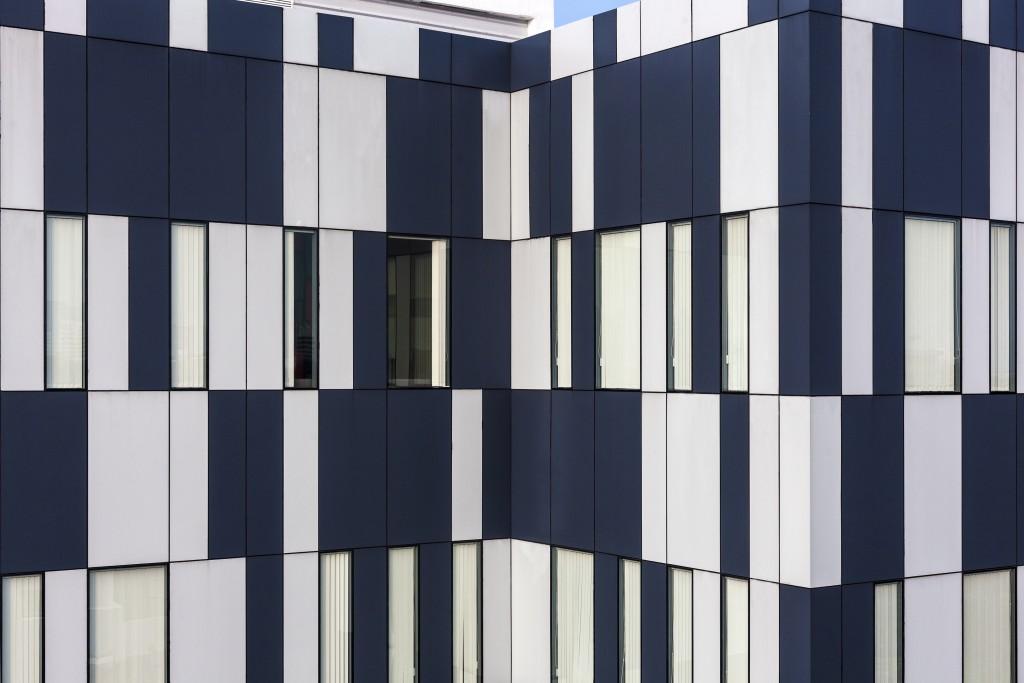 Facade of building V