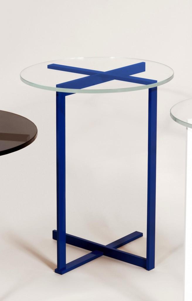 Juniper peasant table-blue