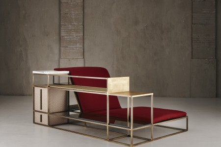 """""""Living in a Chair"""" by Federico Peri for Galleria Nilufar"""