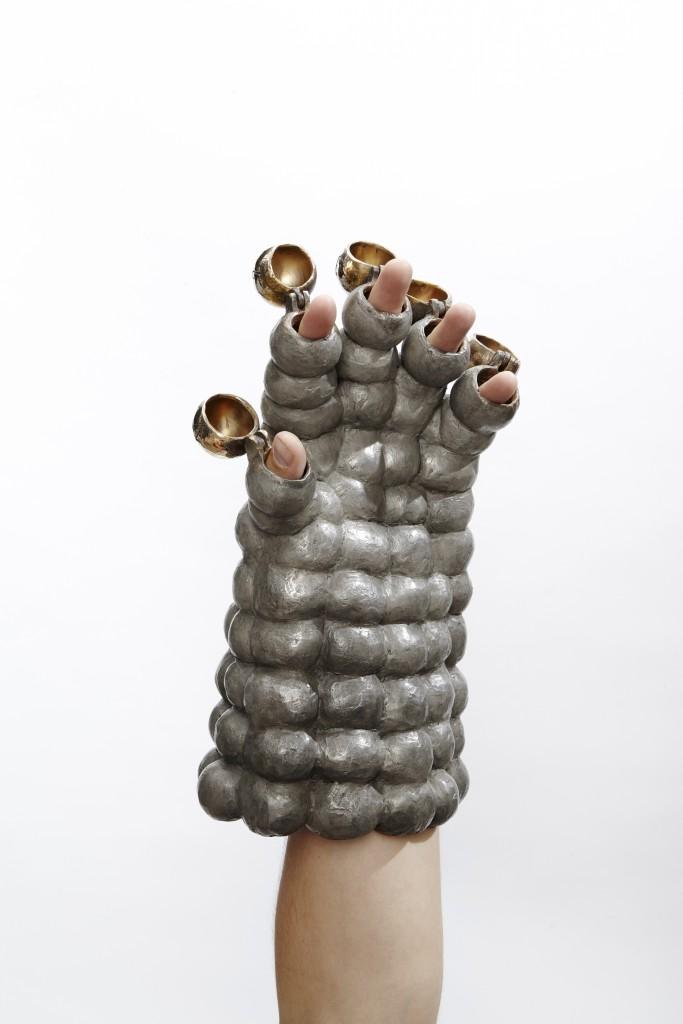Soviet Eva Spacesuit Glove by NPP Zvezda