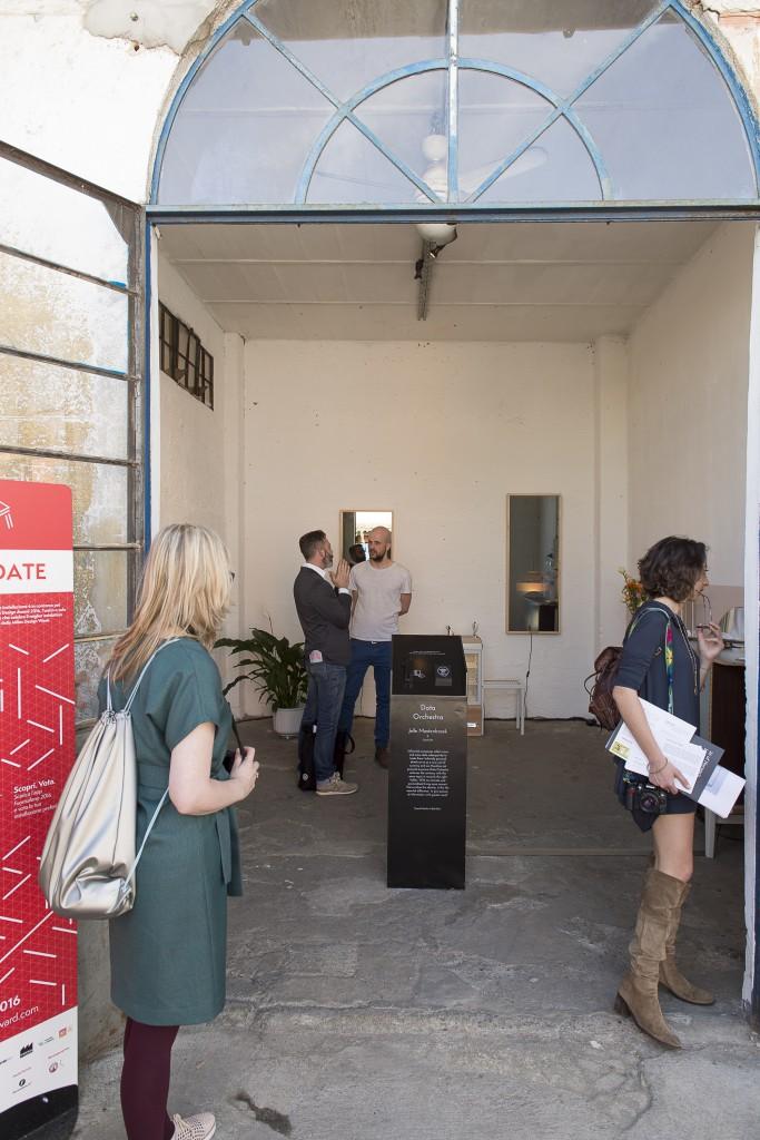 "Jelle Mastenbroek, ""Data Orchestra"" - Winner of Best Technologies, Milano Design Award 2016 (Photo by Claudio Grassi, courtesy Ventura Lambrate)"