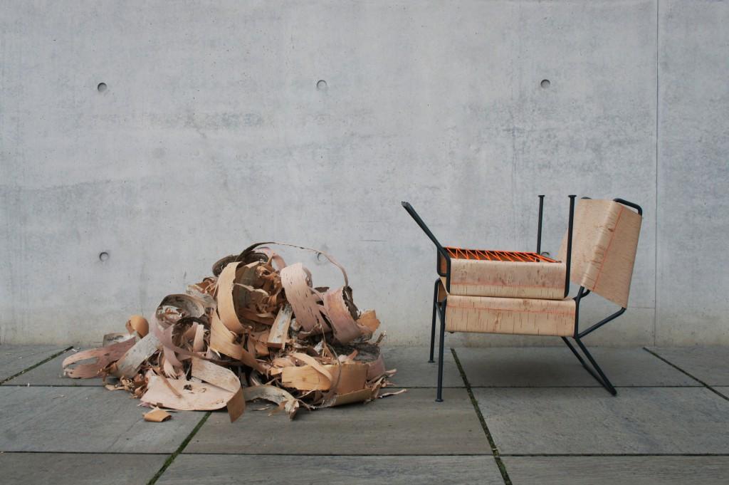 """Anastasiya Koshcheeva - """"Sibirjak"""" armchair (photo courtesy the designer)"""