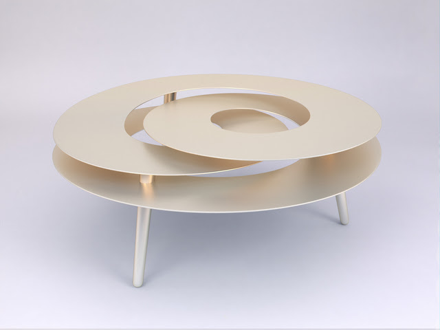 Rollercoaster Medium Table by Janne Kyttanen