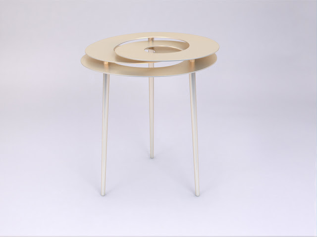 Rollercoaster Small Table by Janne Kyttanen