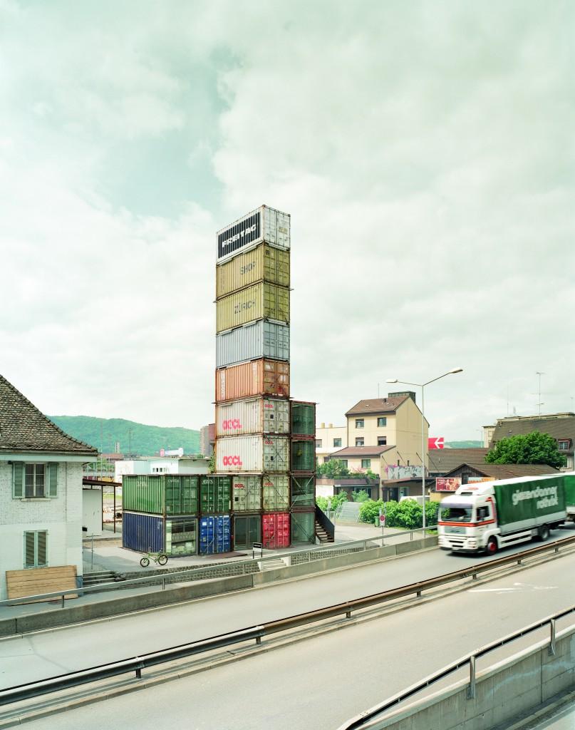 FREITAG Flagship store Zurich. Architect Annette Spillmann & Harald Echsle, Zurich, Photo: Roland Tännler