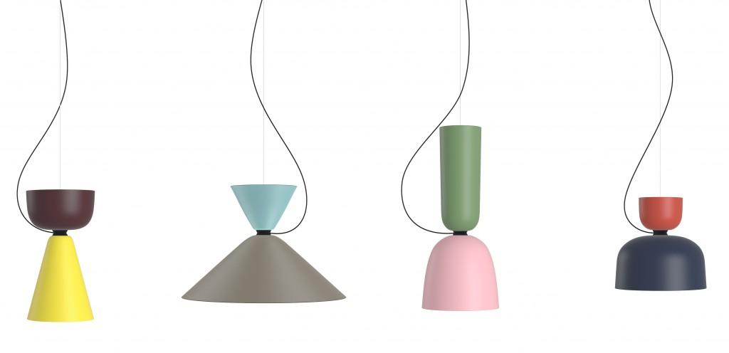 Alphabeta Pendant lamps for HEM, 2015