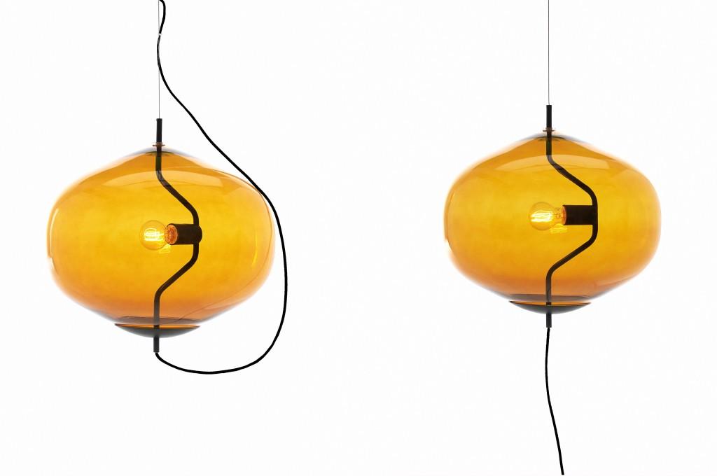 Fondue Suspension Light for David Design, 2014