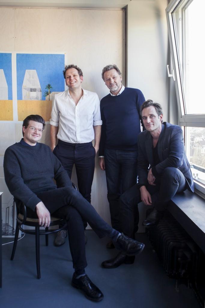 OFFICE Kersten Geers David Van Severen, Joris Kritis & Richard Venlet.  Photo by Sam