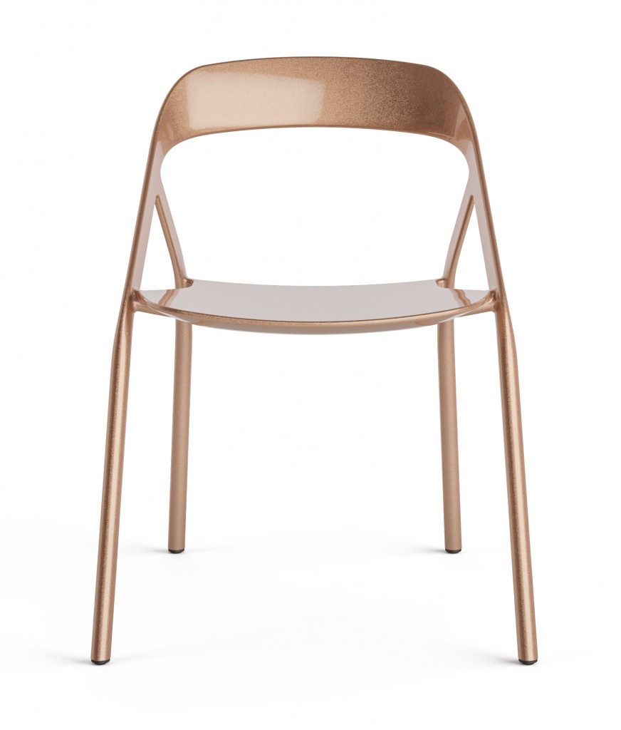 Carbon Fiber Chair (Copper) for Coalesse, 2014