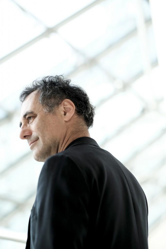 Enrico Lunghi, directeur du Mudam et commissaire de l'exposition / Mudam director and exhibition curator