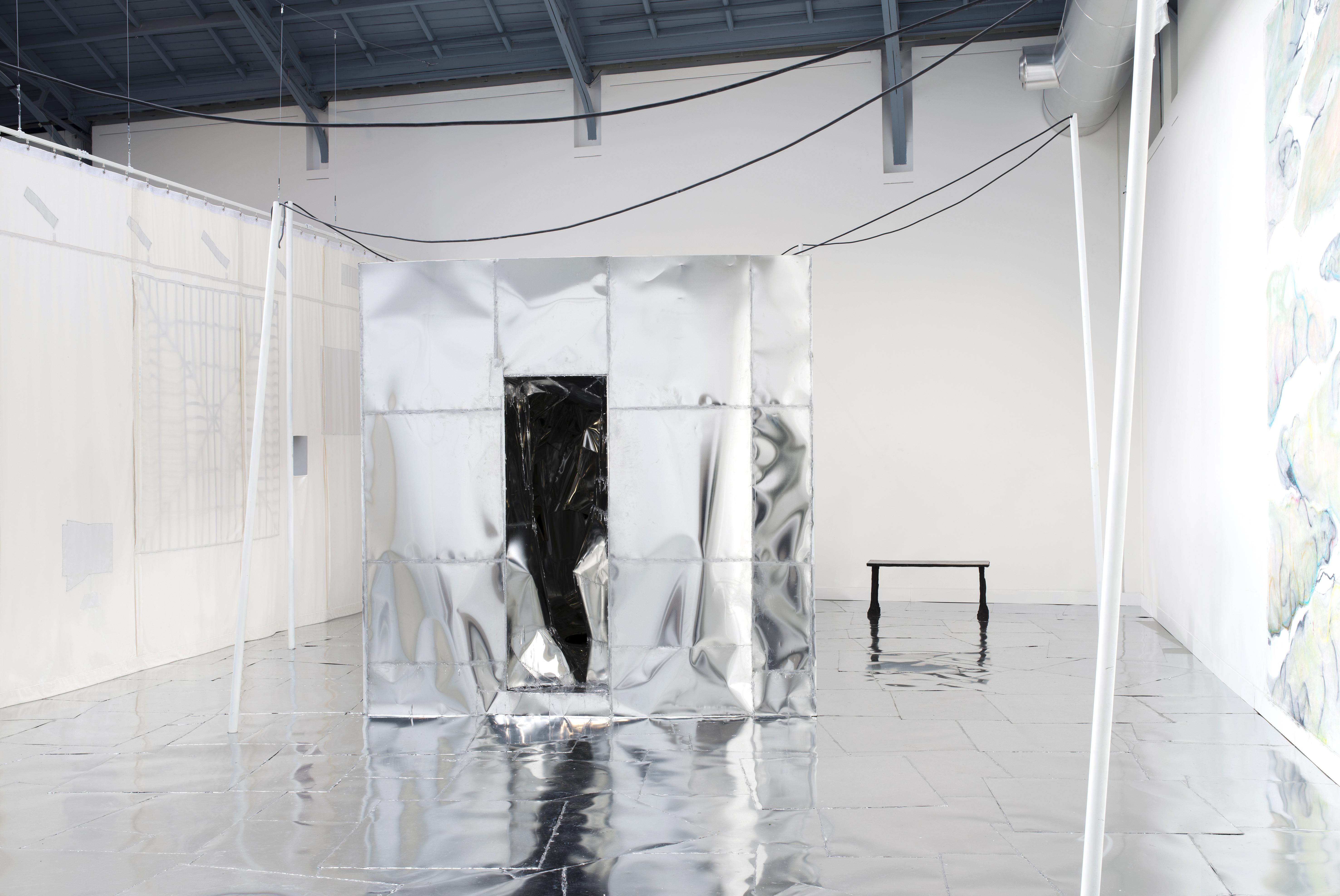 """Douglas Eynon & Erwan Mahéo, """"NOVELTY Ltd."""" Exhibition view, La Verrière - Fondation d'entreprise Hermès, 2017"""