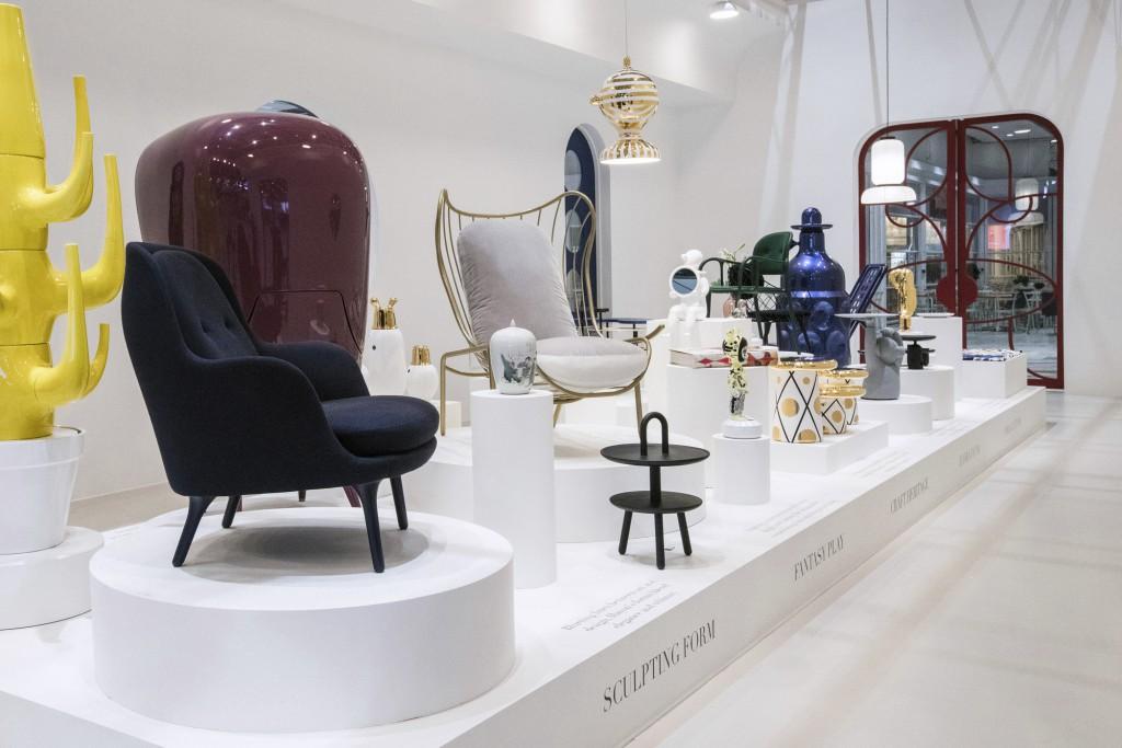 Stockholm Furniture Fair guest of honour pavilion. Photo: Andrea Björsell