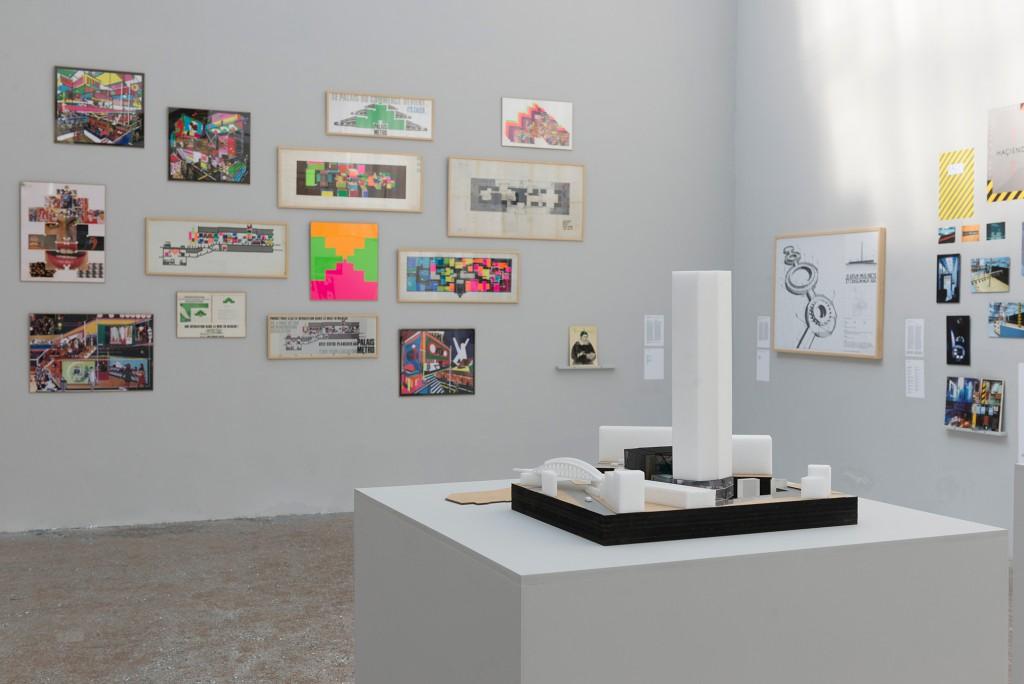 Installation view of La Boîte de Nuit exhibition.
