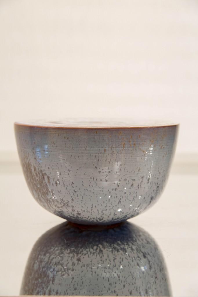 Pot bleu: dimensions 16, 5 x 27 cm / 1980