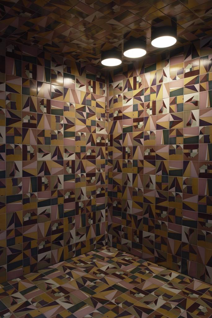 Corrispondenza tiles for Ceramica Bardelli at Via Solferino