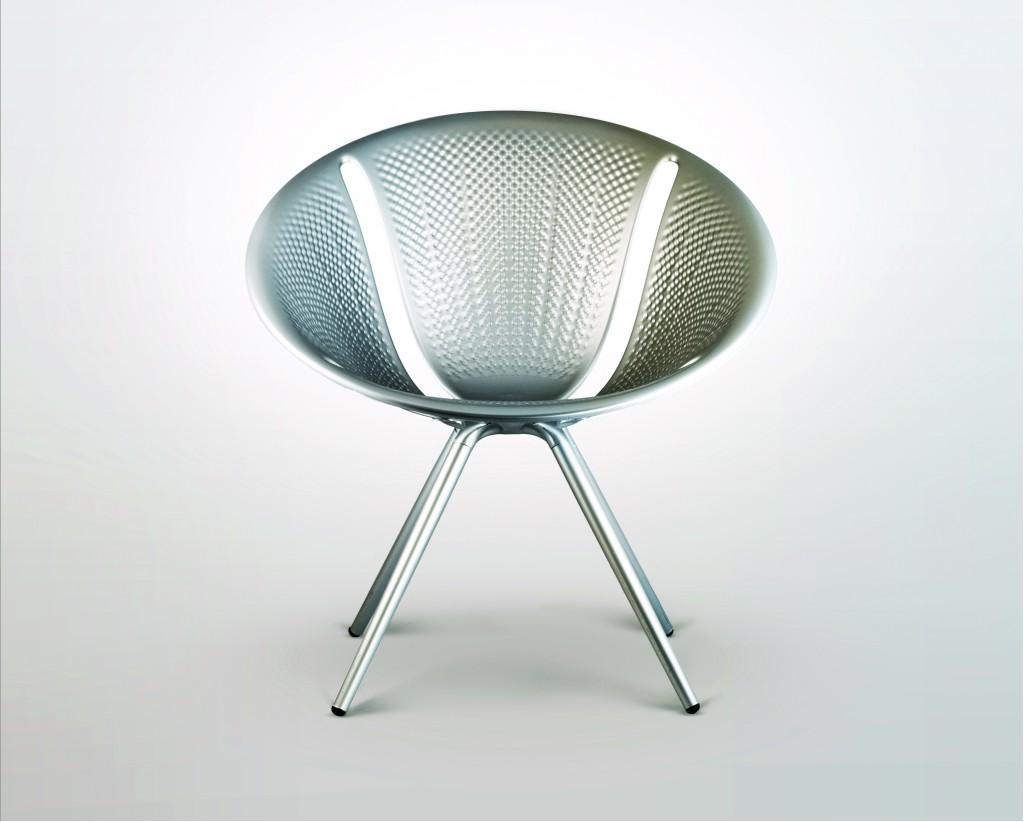 Diatom (2014) aluminium chair for Moroso