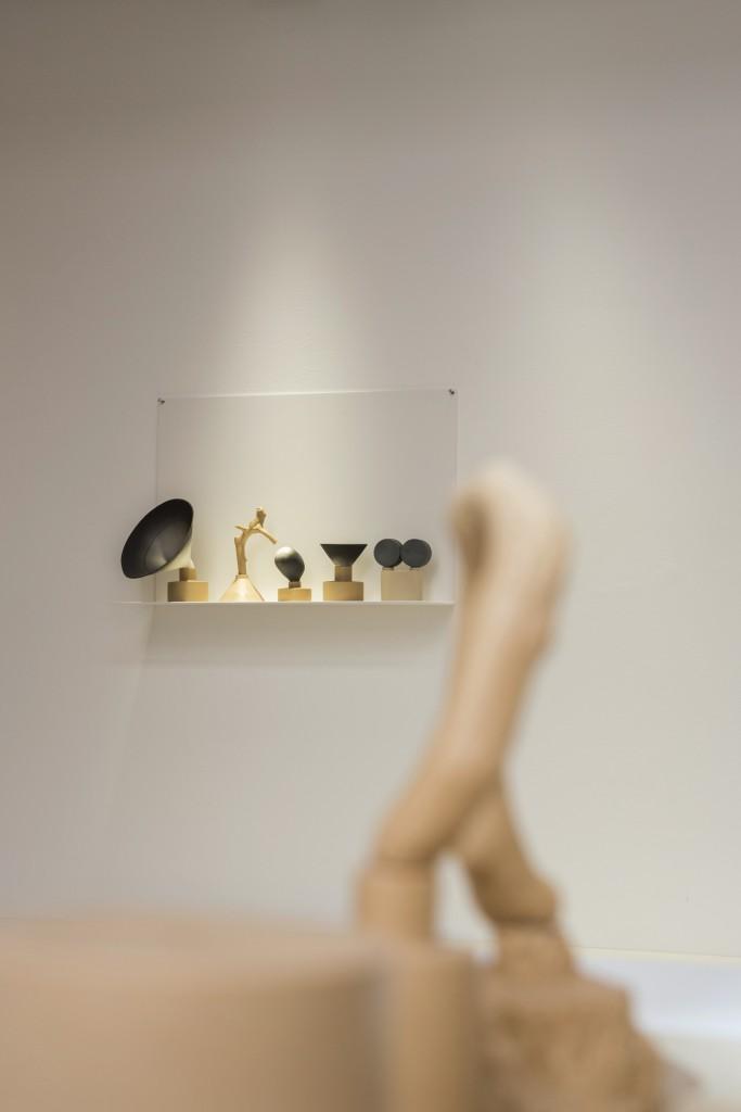 Installation view, Mia E Göransson, Solo Show at Officine Saffi, 2017