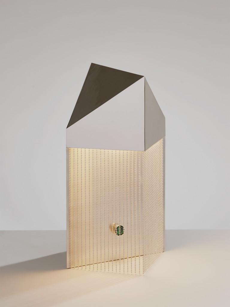 Silver Veil Lamp