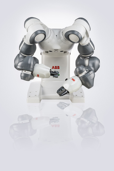 ABB Ltd, YuMi®, dual-arm industrial robot, 2015