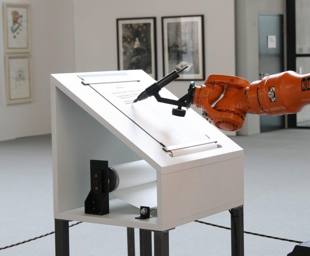 robotlab (ZKM), manifest, 2008