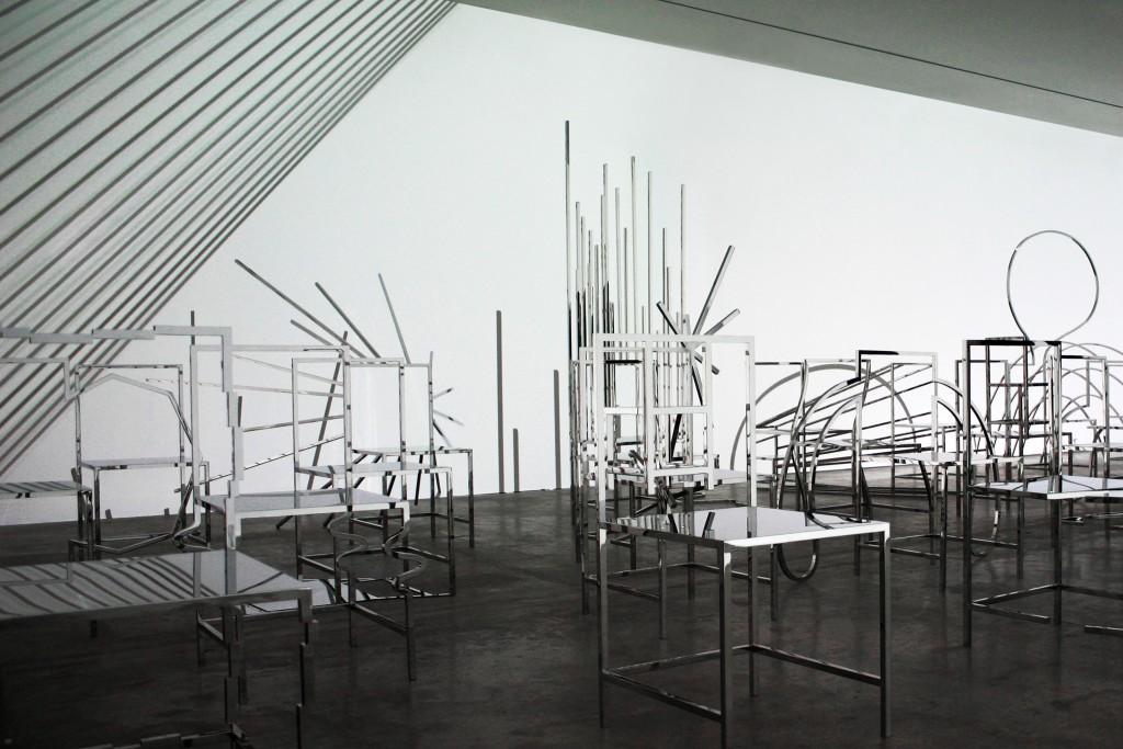 Manga chairs by nendo