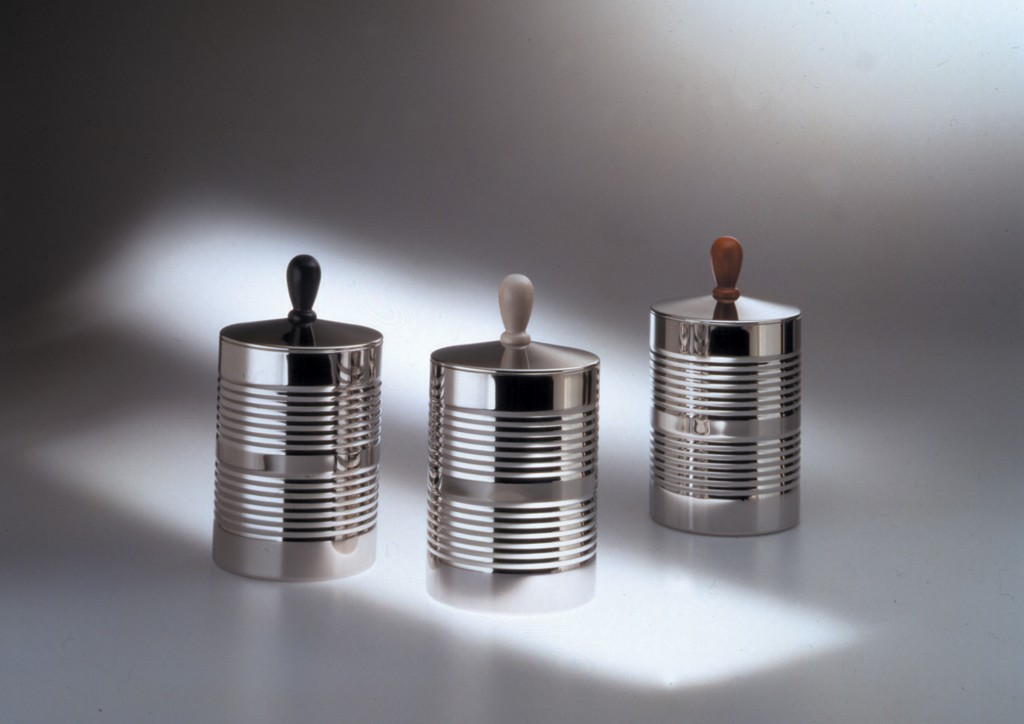 Tin Man Cannisters, 1990, Produced by Alessi
