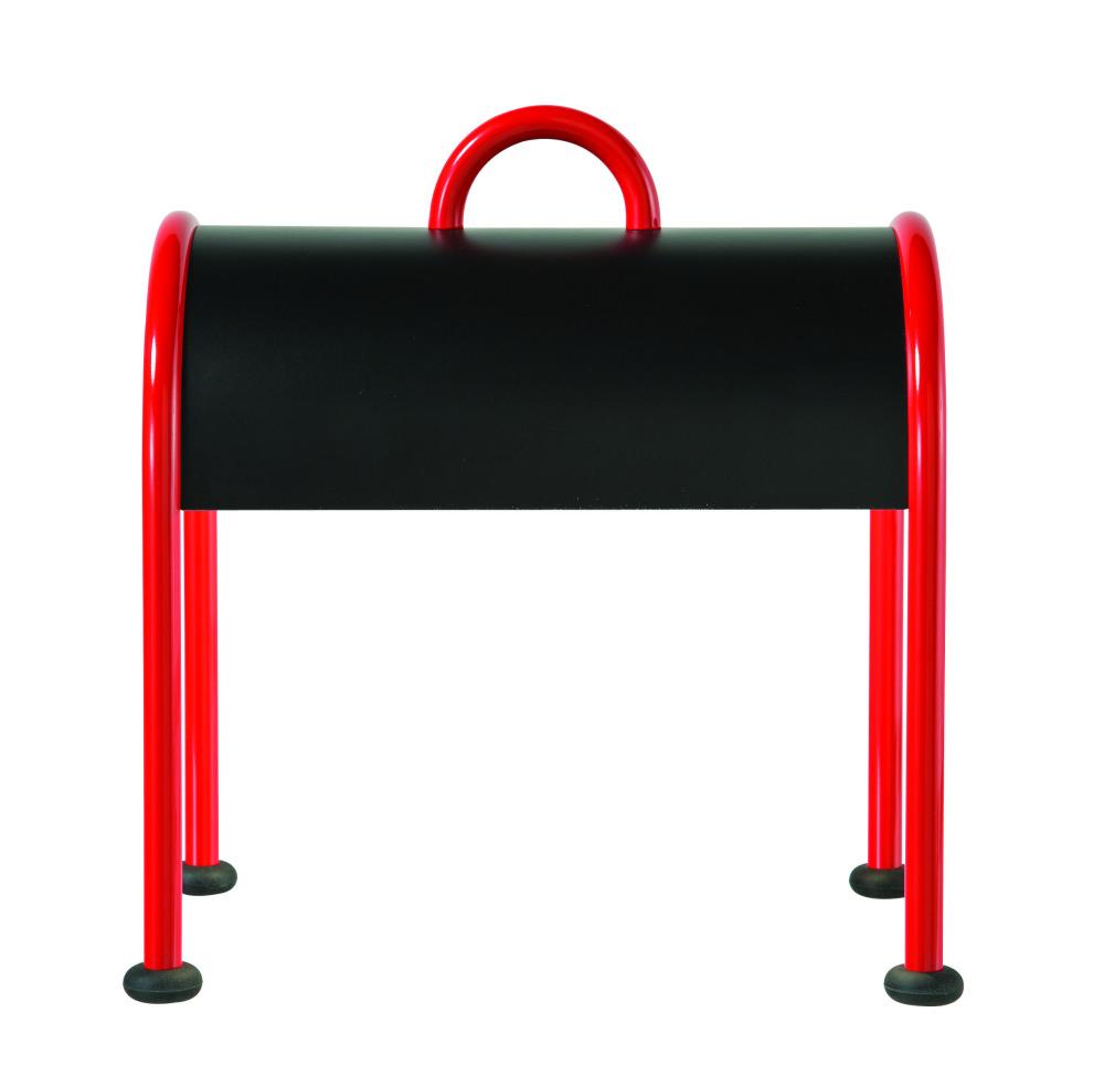 Valigia lamp in red for Roche Bobois