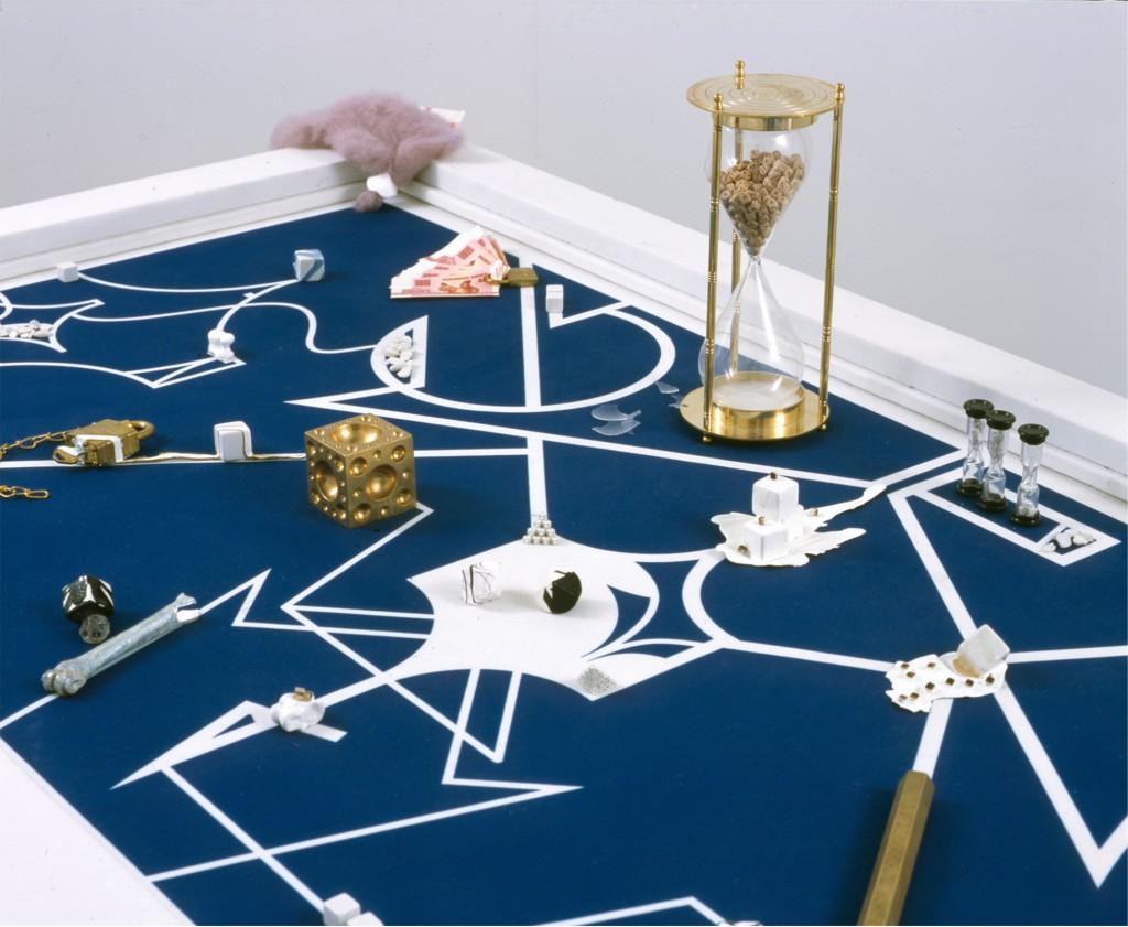 Casino Ilinx / Talus (curatée par Sarina Basta), 2008. SculptureCenter, L.I.C., New York. Photo by Jason Fulford © Michael Portnoy