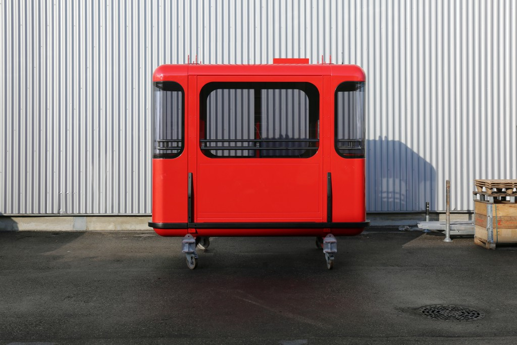 Atelier 360, cabine du nouveau téléphérique de Toulon