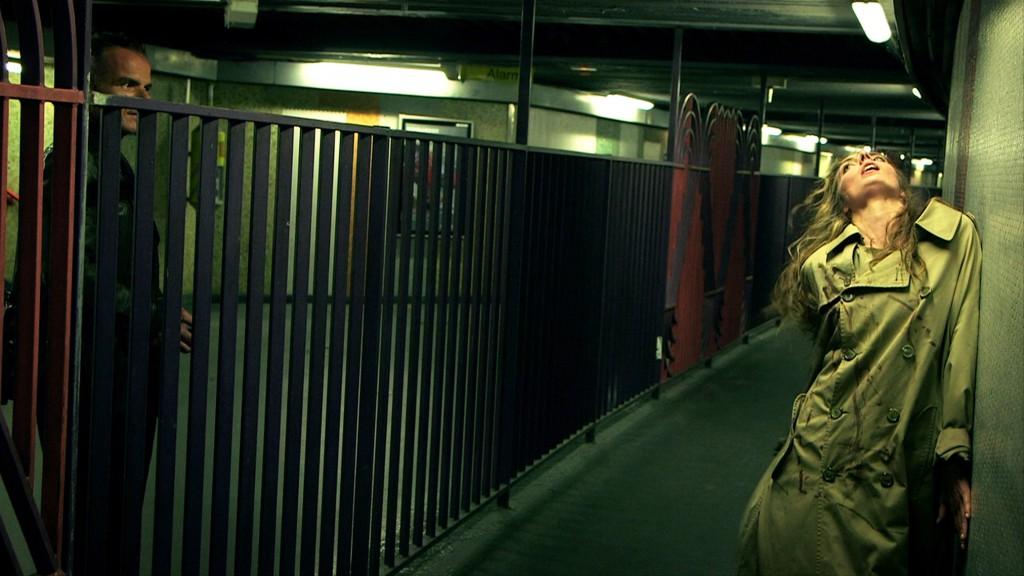 Thrillochromes (image extraite de l'un des six courts métrages présentés dans cette installation), 2013. Nuit Blanche, Paris © Michael Portnoy