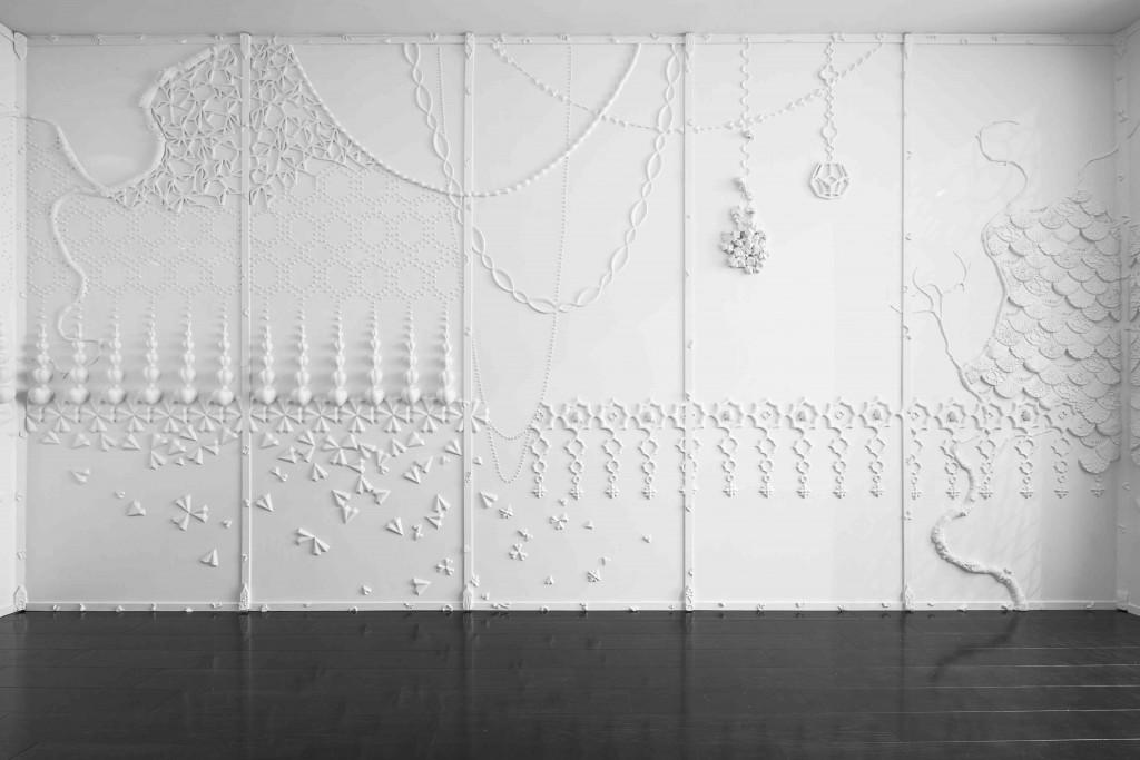 Paneled Collage Room