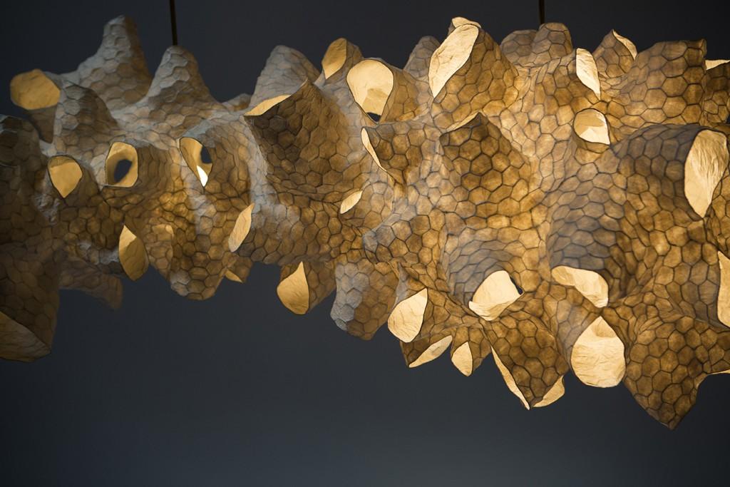 Honeycomb Sculpture Lights