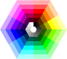 light table color wheel