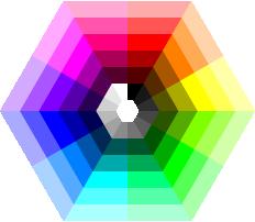 light table color wheel