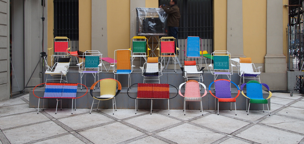Marni Chairs at Milan Furniture Fair