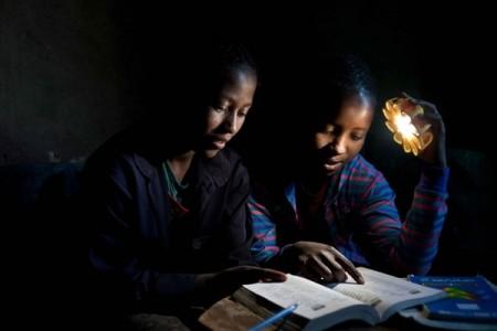 Little Sun, solar-powered lamp by Olafur Eliasson