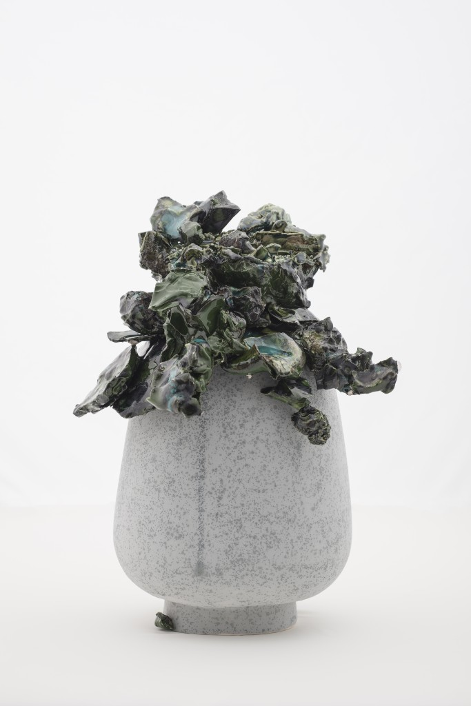 Grey 77, sculpture, porcelain, 2013