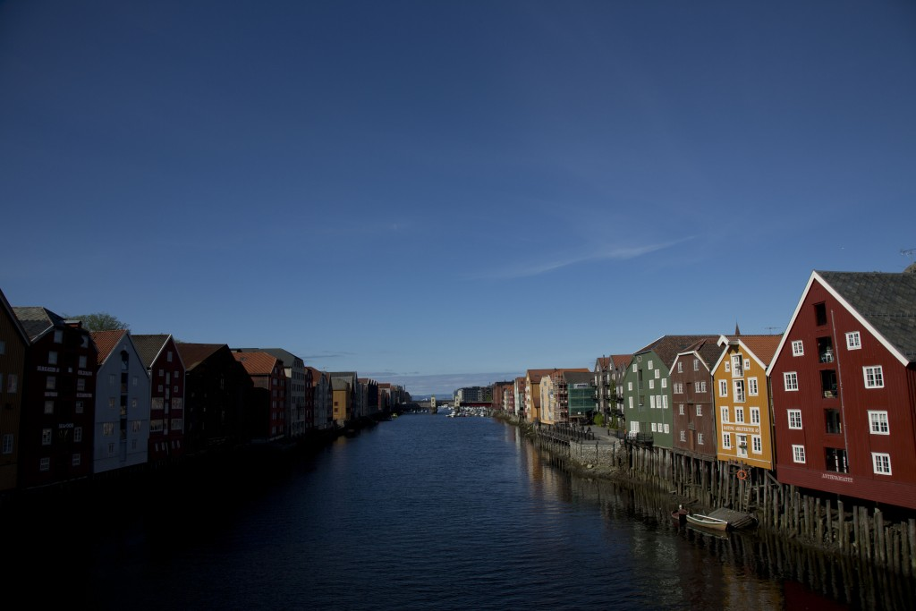 View of the city of Trondheim