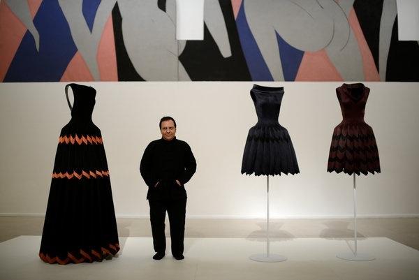 Azzedine Alaïa in Henri Matisse's