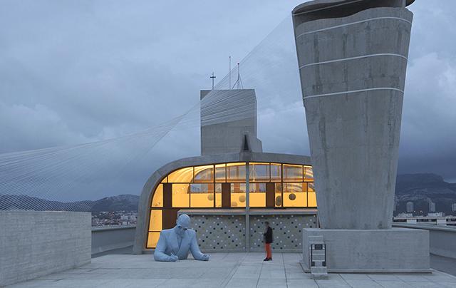 Vue d'exposition / exhibition view, Architectones, Unité d'h