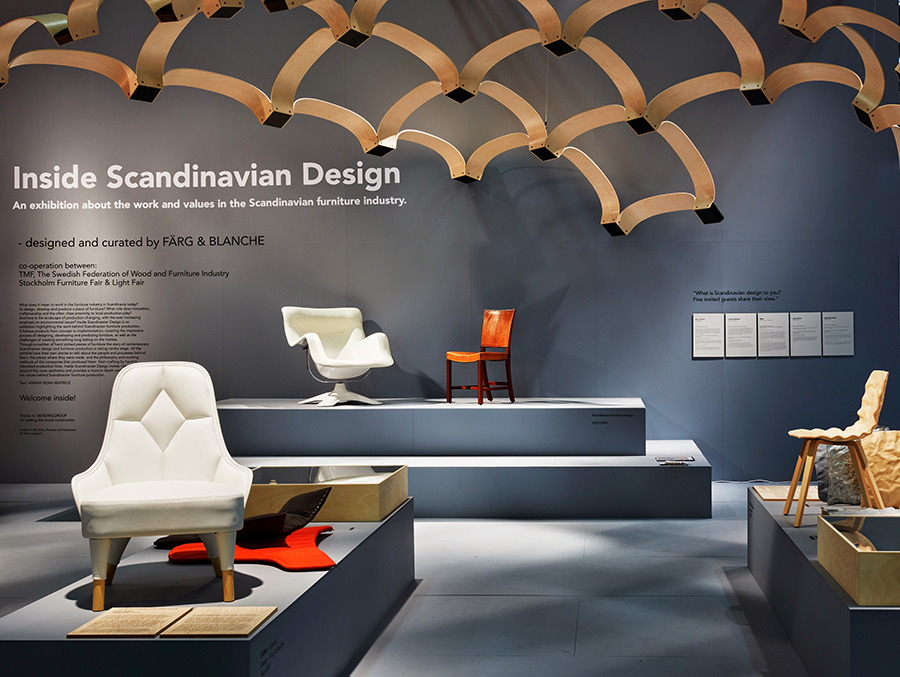 Stockholm furniture fair f rg blanche for Furniture design exhibition