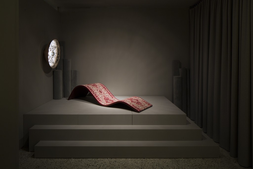 Carpets and Rugs_Carpetry Chaise and Carpetry Wall Light