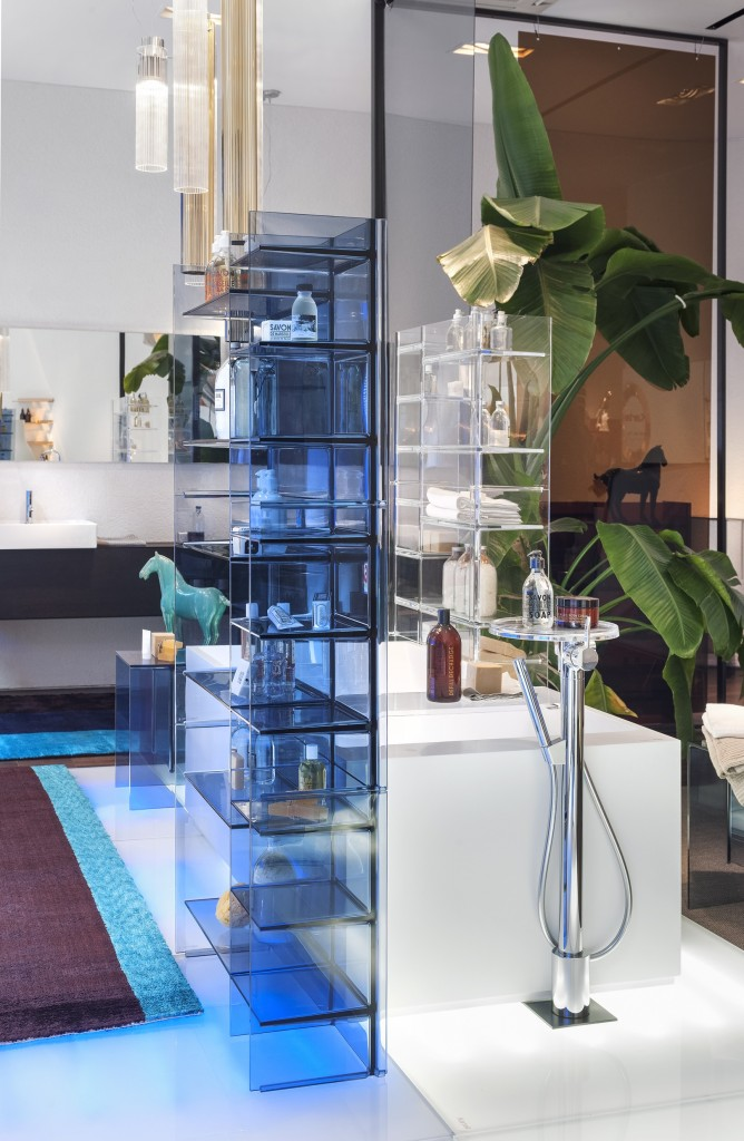 Dive into the blue at Kartell by Laufen Showroom