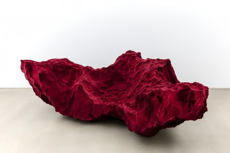 Species sofa. Polyurethane, glass fibre, polyester. Size 2400 x 1400 x 790 mm.