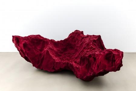 Species sofa. Polyurethane, glass fibre, polyester. Size 2400 x 1400 x 790 mm.